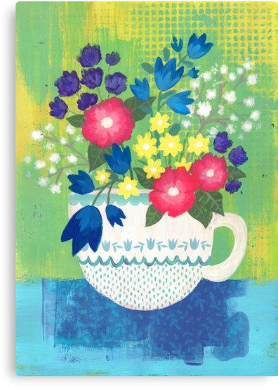rebubble-print-teaup-flowers